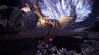 Brute Tigrex Monster Hunter World Iceborne Monster Hunter Tools Brute tigrex features a darker, more muted color palette of various shades of grey, brown, and beige. brute tigrex monster hunter world