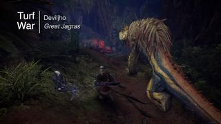 Great Jagras, the Small Glutton
