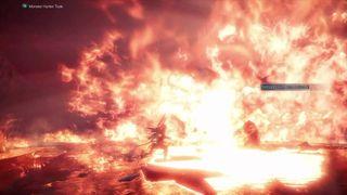 Fatalis's Gigantic Flame Attack