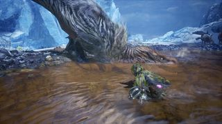 Fulgur Anjanath Drinks Water