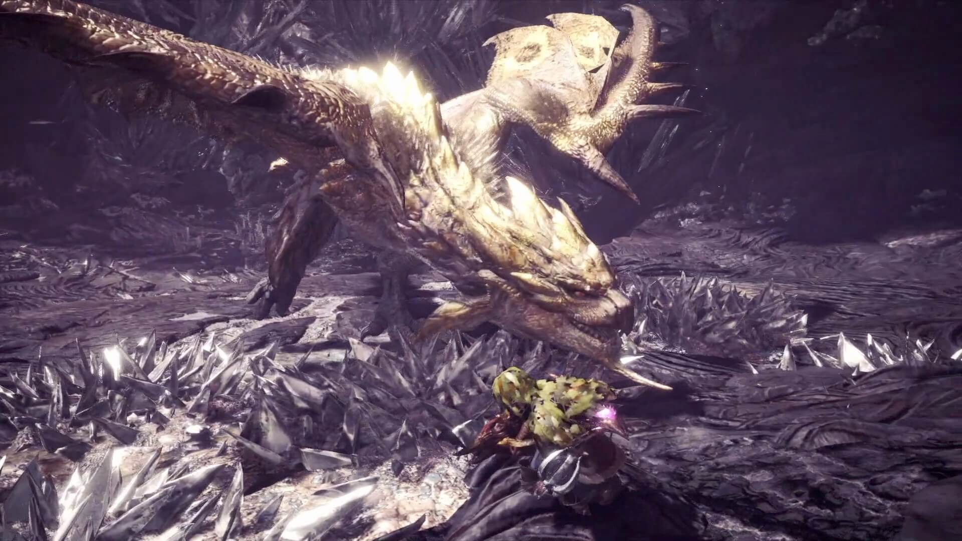 Hide and Seek with Gold Rathian