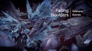 Falling Boulders on Velkhana