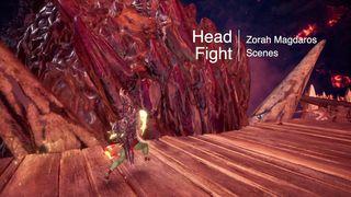 Zorah Magdaros Head Fight