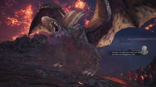 Nergigante's Appearance on the Shell of Zorah Magdaros