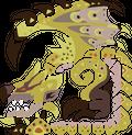 Gold Rathian Icon