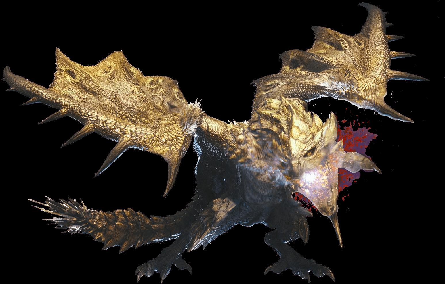 Gold Rathian Big Image
